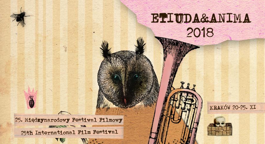 Plakat 25. MFF Etiuda&Anima