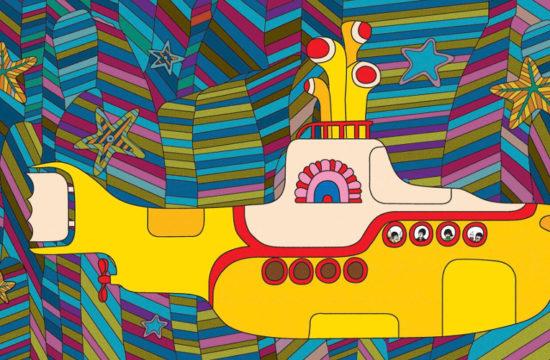 Zółta łódź podwodna